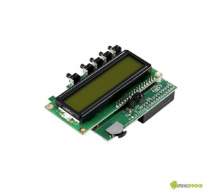 PiFace RPI I/O Board with LCD display