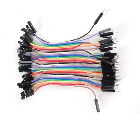 Premium Female/Male Ext. Jumper Wires 40x3 75mm