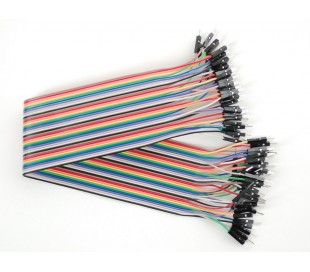 Premium Male/Male Jumper Wires 40x12 300mm