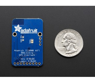 Adafruit CC3000 Wifi Shield with uFL for ext ant.