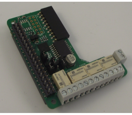 PiFace Relay + extra expansion port pro Raspberry