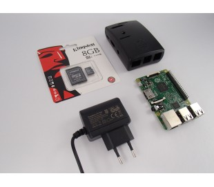 Raspberry Pi 2 Starter KIT B light verze black