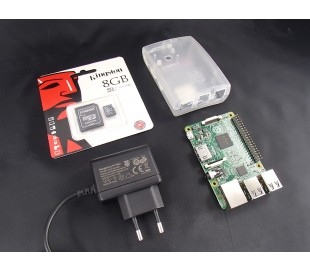 Raspberry Pi 2 Starter KIT B light verze clear