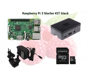 Raspberry Pi 3 Starter KIT black