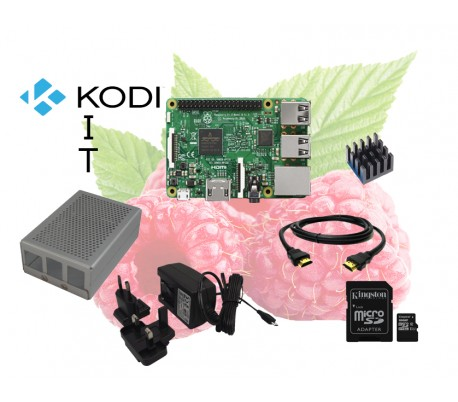 KODI KIT s Raspberry Pi 3