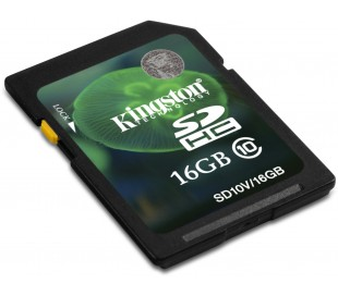 16GB Secure Digital SDHC Kingston - class 10